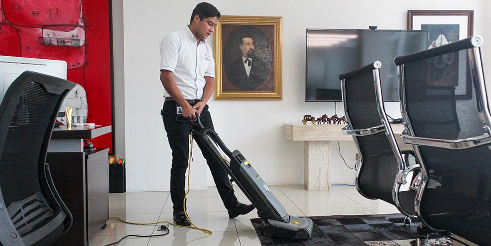 Conserjería y limpieza