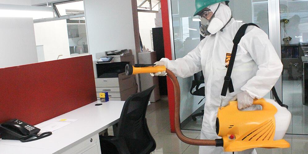 Sanitización y desinfección  de ambientes