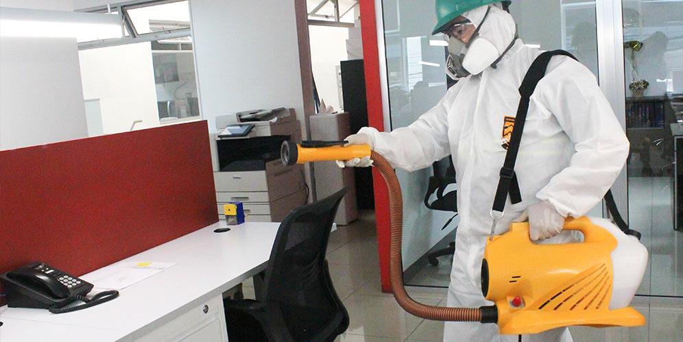 Sanitiza y desinfecta periódicamente tu lugar de trabajo ante la crisis Covid-19