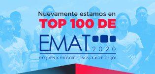 The People Company se encuentra en el top 100 de EMAT 2020